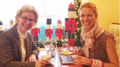 Interview avec Emma von Bergenspitz sur le blog   Stuttgart Diary