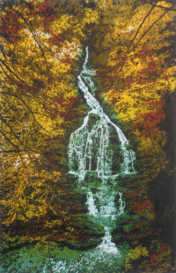 """DEEPWOOD FALLS""  by William H. Hays website:  www.theartistsloft.com"