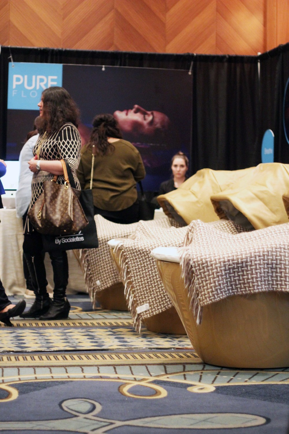 The crazy relaxing, vibrating pods from Pure Float