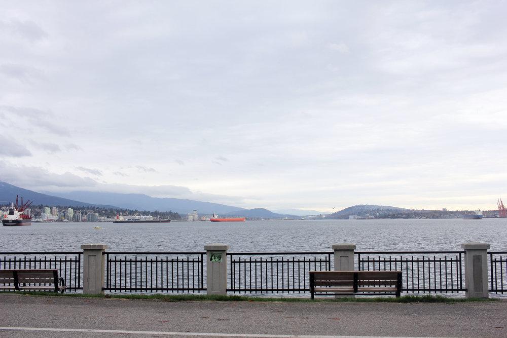 Stanley Park ocean view