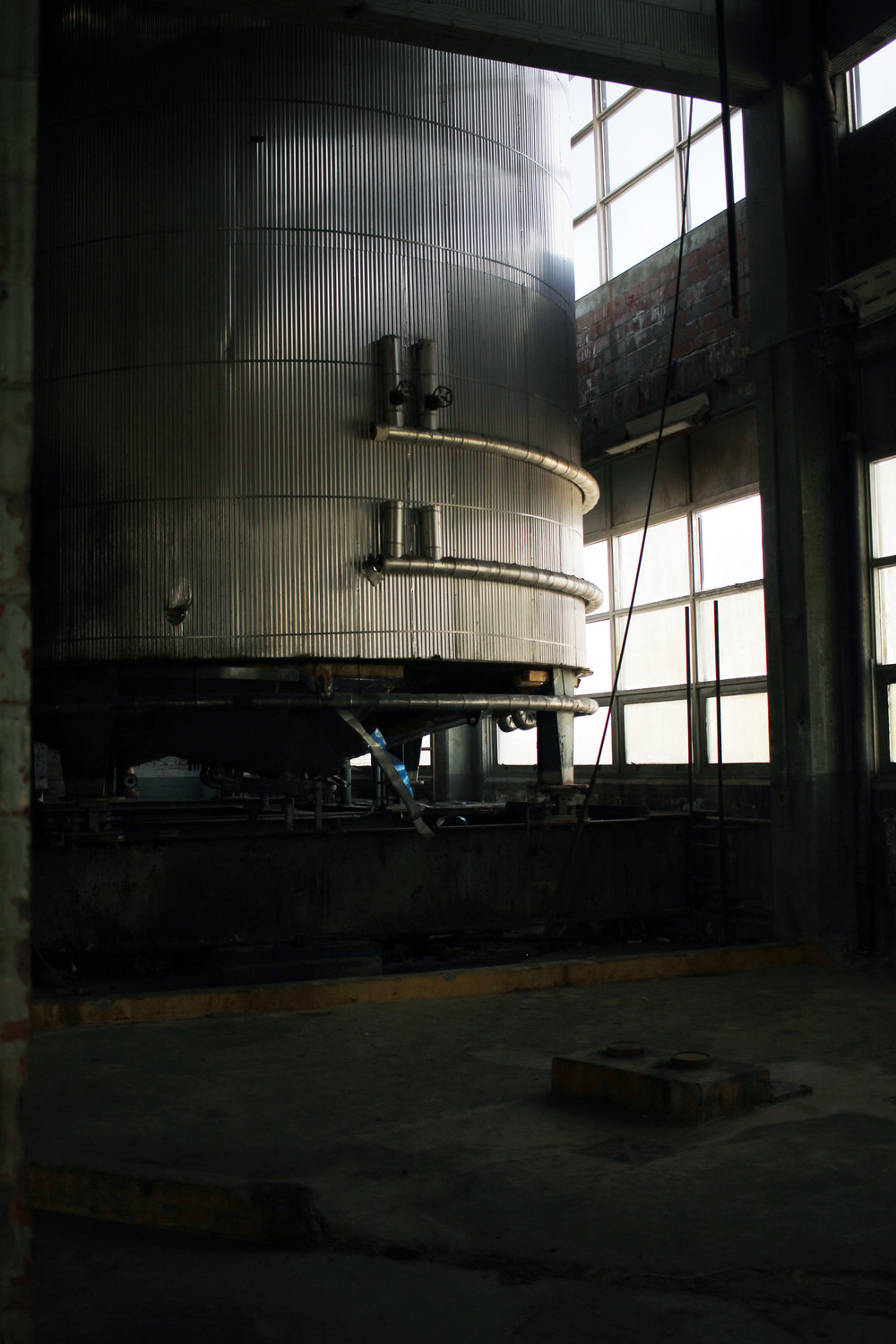 abandoned factory photography
