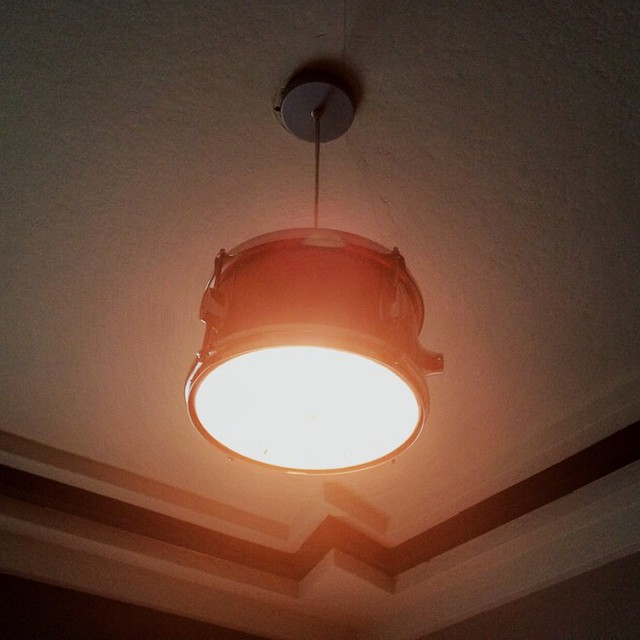 There's a drum on the ceiling! #studiolighting #funwithdrums