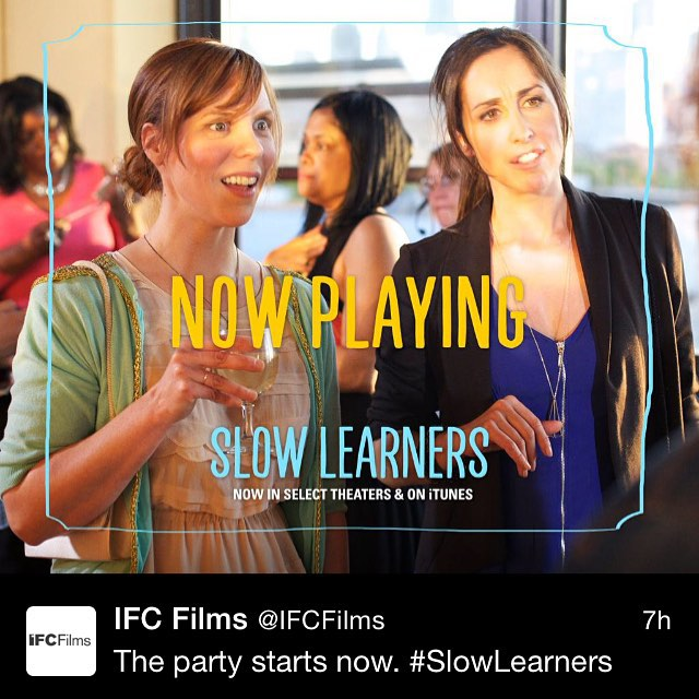 #SlowLearners out today!  Thanks to @IFCfilms & @SundanceSelects !! On Demand everywhere (iTunes, YouTube, Amazon, TimeWarner, etc) #GoWatchIt  #LaughYourAssOff #NoticeTheMusic #composers #filmscore
