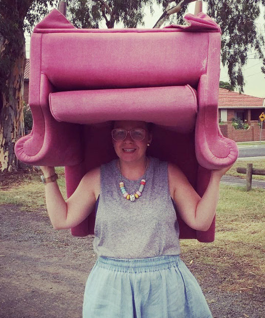 Interesting lady, chair hat wearer and Good Day Rentals' founder, Kate Forsyth writes this blog. Covering deeply important topics like Potato Gems, love letters, parties, great/weird people, fun and craft, this blog is a must read for humans, animals and plant life.