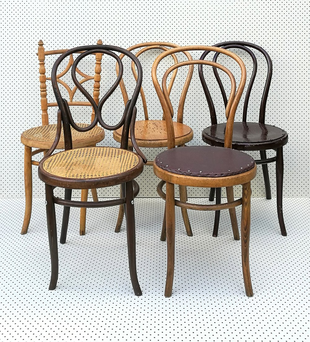 Beau Bentwood Dining Chairs   Assorted