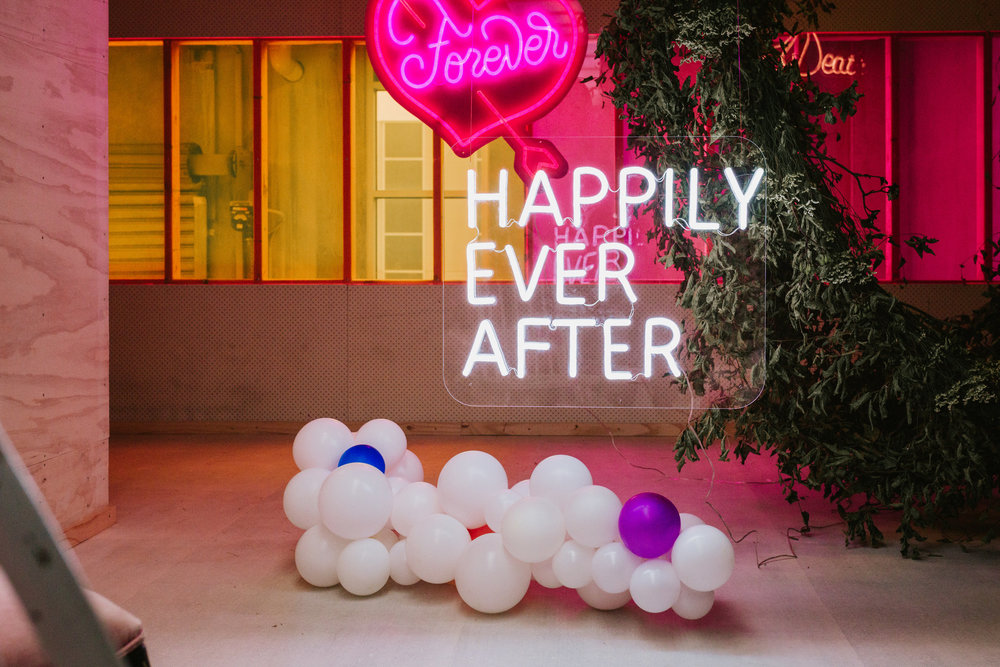 HAPPILY EVER AFTER NEON SIGN