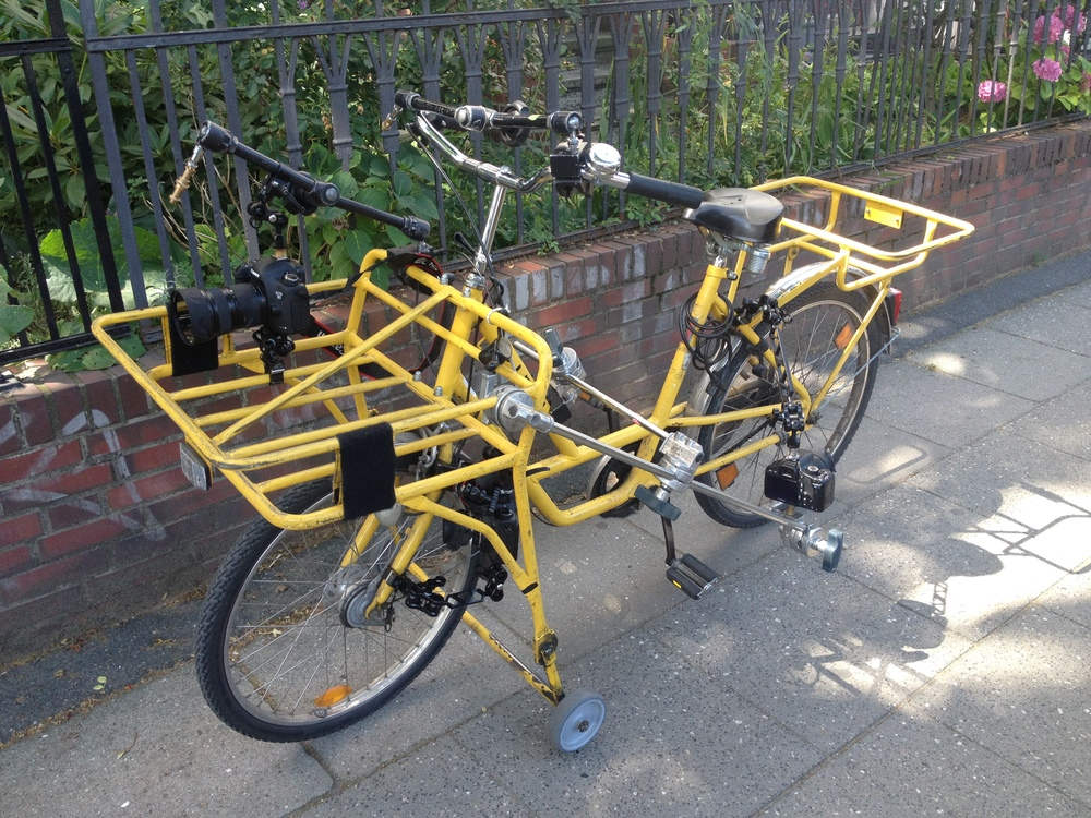 3 cameras rigged to bicycle.JPG