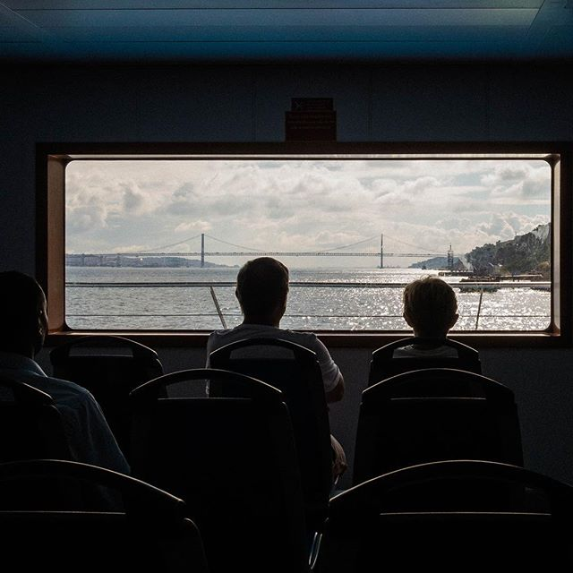Ferrymen! View from inside the ferry. #lisbon #fujifilm #fujixpro1 #fujifeed