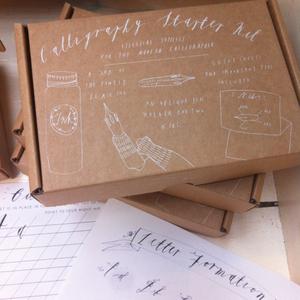 Alice Gabb - Calligraphy starter kit
