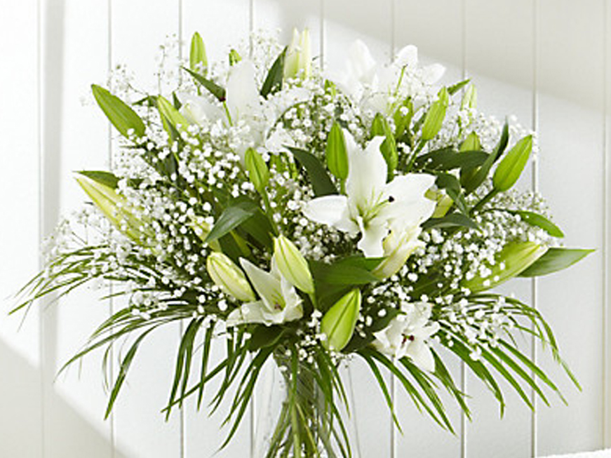 Marks and Spencers - M&S have a smallish range of Fairtrade things but I really like the range of flowers they do. These would make a great mother's day gift.