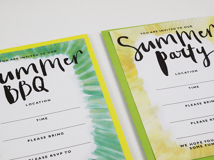 summer party printable Liz Mosley