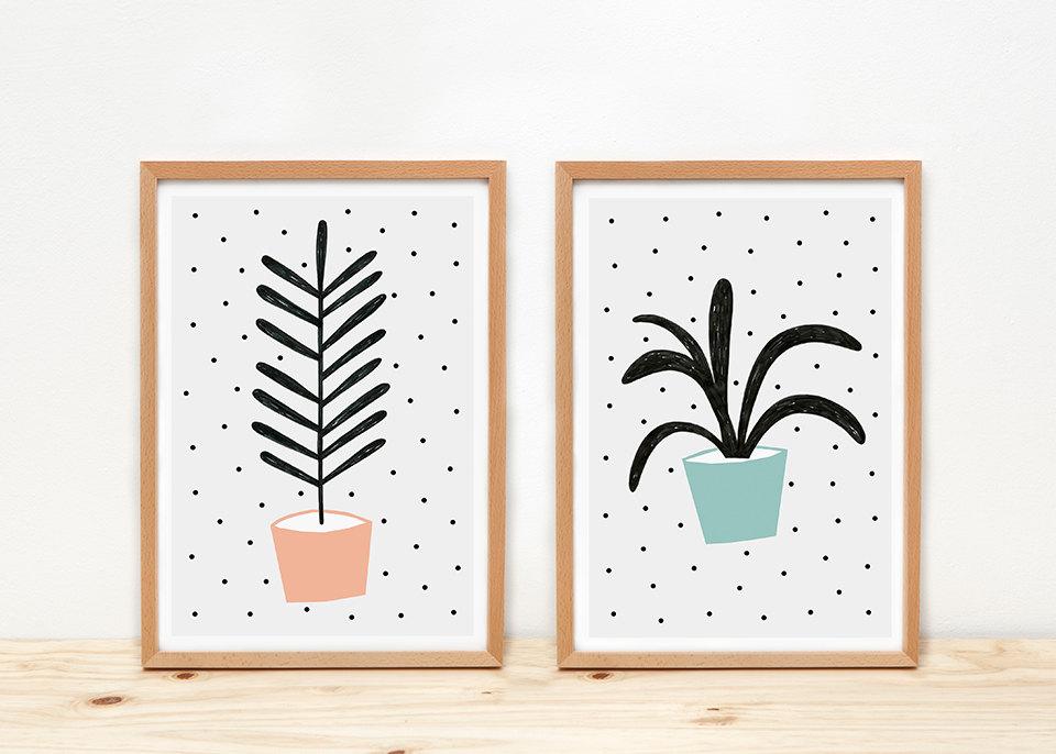 Plantas Prints - by Depeapa