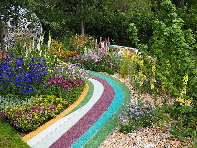 Liz Mosley Chelsea Flower Show