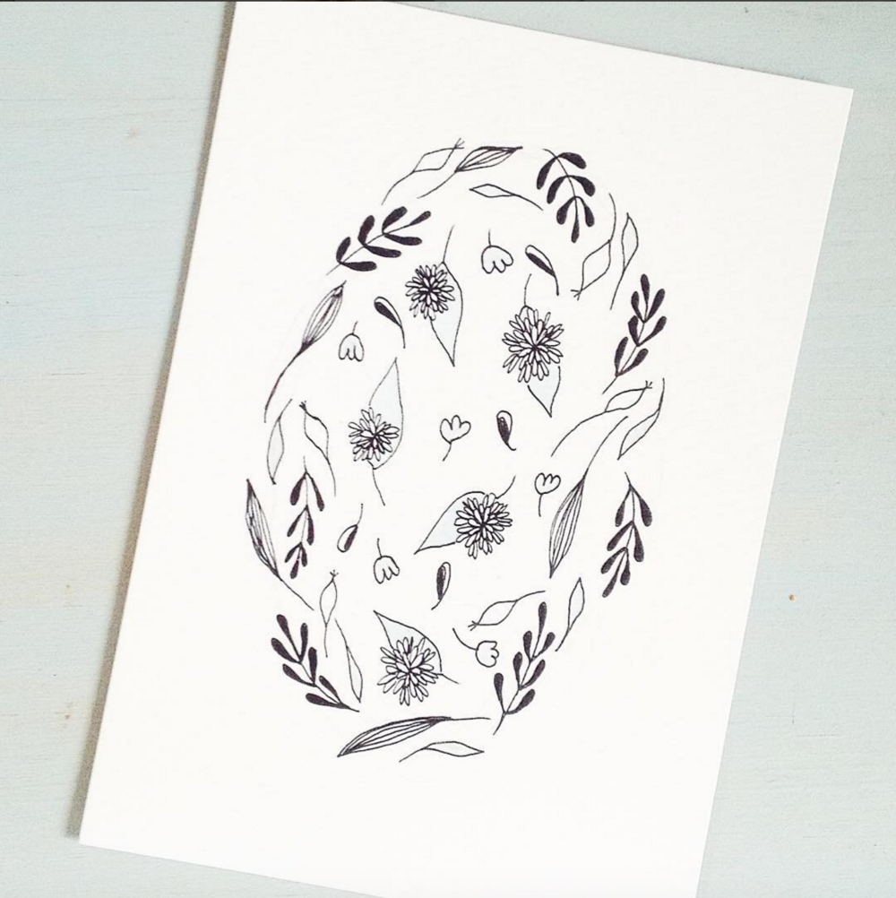@modernbotanics - I have been a fan of Mirta's work for ages. Absolutely stunning products created with lino cuts.