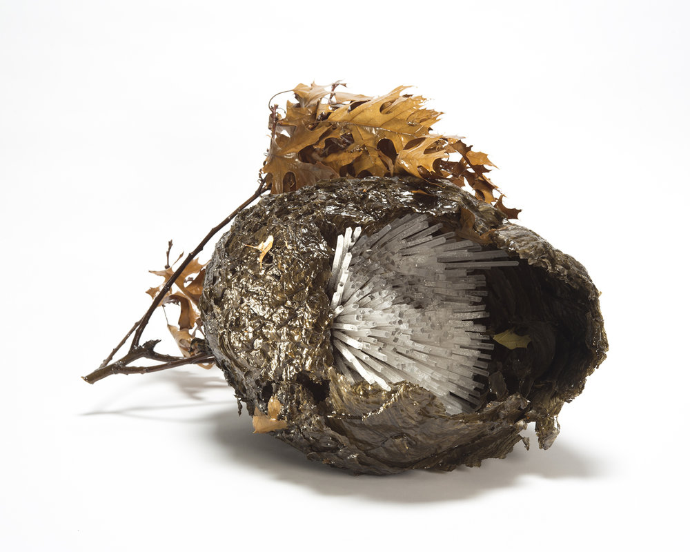 Laura Kramer Memento Specimen III 2015.  Photo courtesy Heller Gallery.