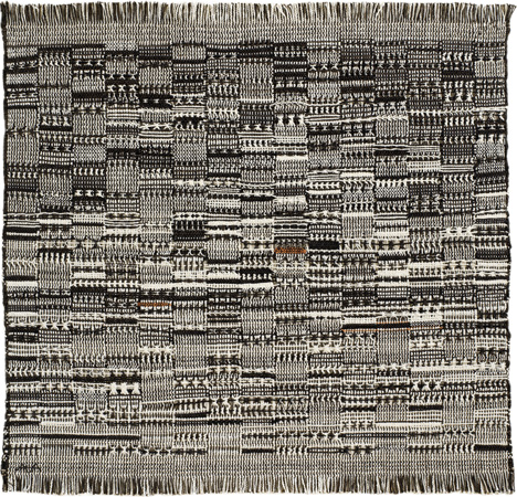 Anni Albers, Open Letter, 1958, Weaving, Cotton