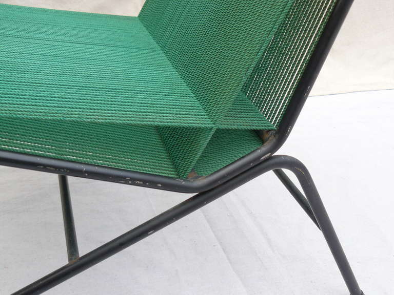 1950s String Chair by American designer, Allan Gould