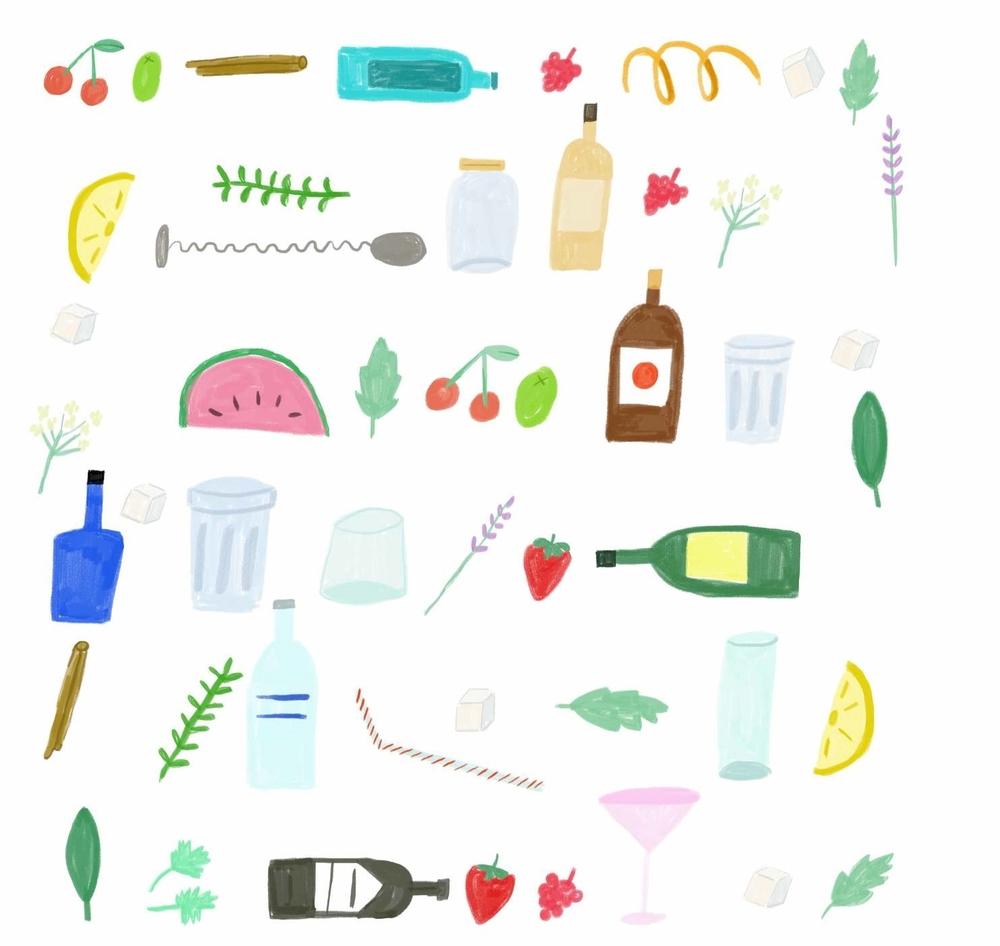 Tippletown Cocktail Festival imagery