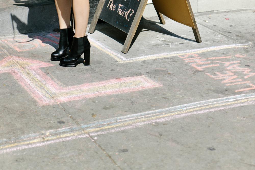 Acne Studios Top , Topshop Shorts, Chanel Shoes, Céline Bag, Rag & Bone Hat ( Similar ), Hermes Bracelet , AVEC New York Ring