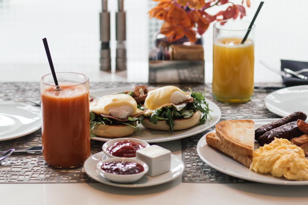 Breakfast at  Trace  at  W San Francisco