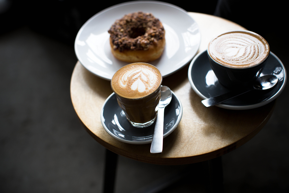 Coffee and Donut break at Sweatshop