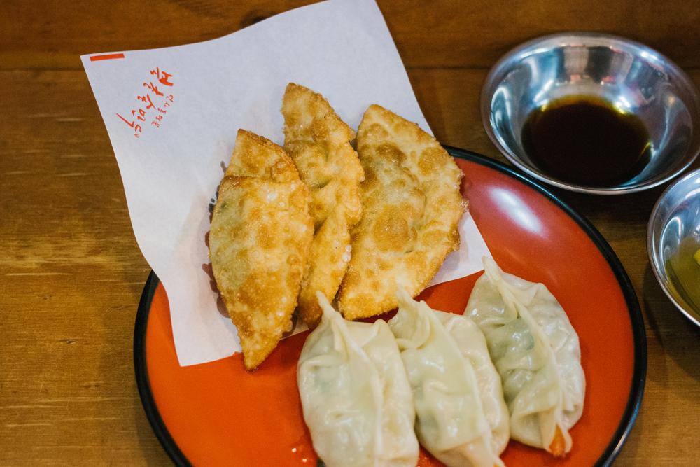 Dumpling break at  북촌손만두 (Bukchon Son Mandoo)