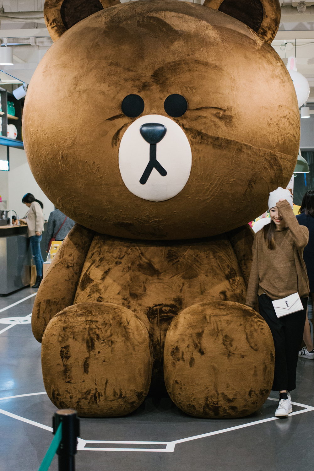 LINE FRIENDS Store  was quite the place