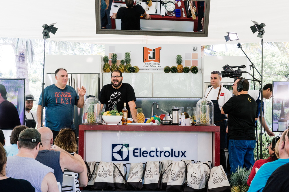 Cook-Off with José Andrés and José Enrique on Encanto Lawn