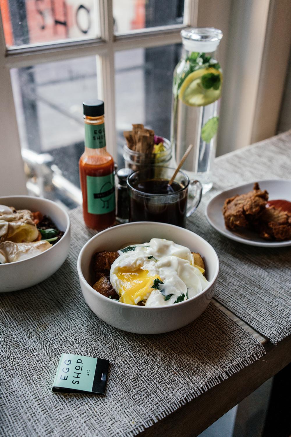 Breakfast at Egg Shop