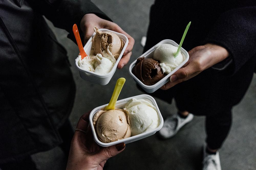 il laboratorio del gelato