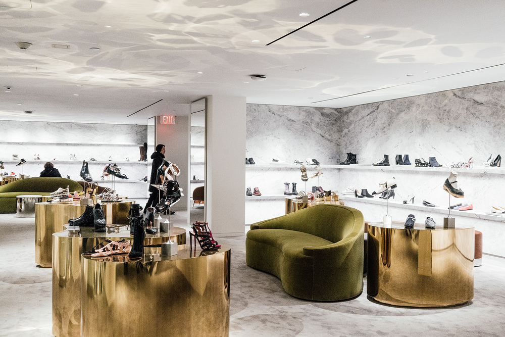 Barneys Downtown Opening