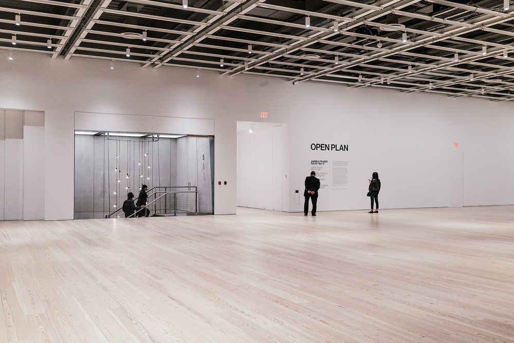 Open Plan at The Whitney