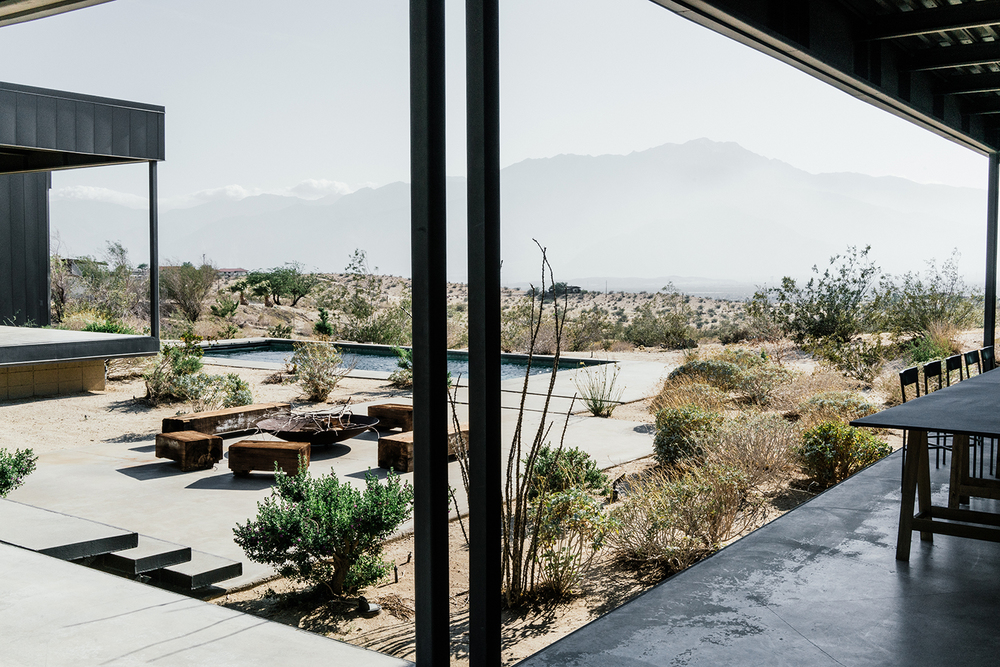 Continuation of P2 Experience and Lunch at Marmol Radziner Desert House