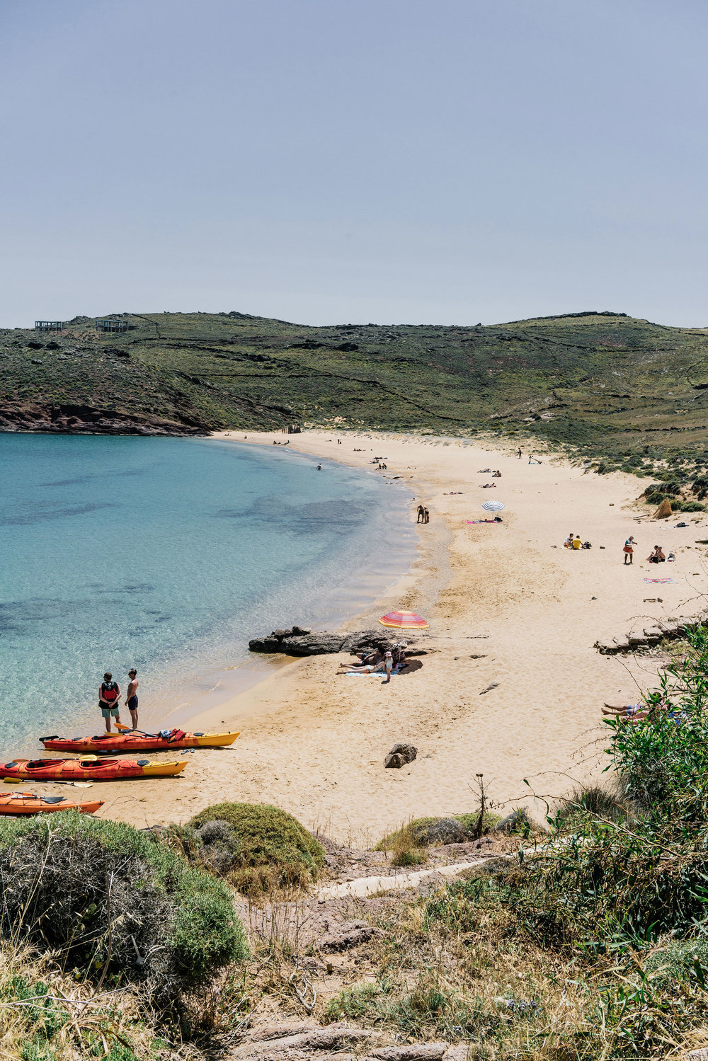 Our favorite beach,  Agios Sostis