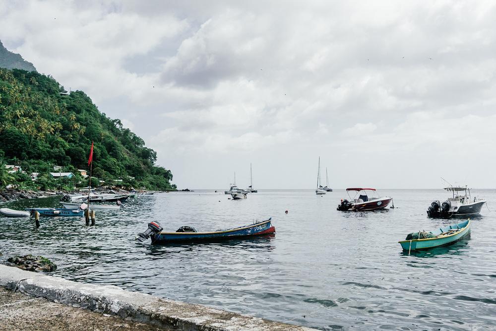 Town of  Soufrière