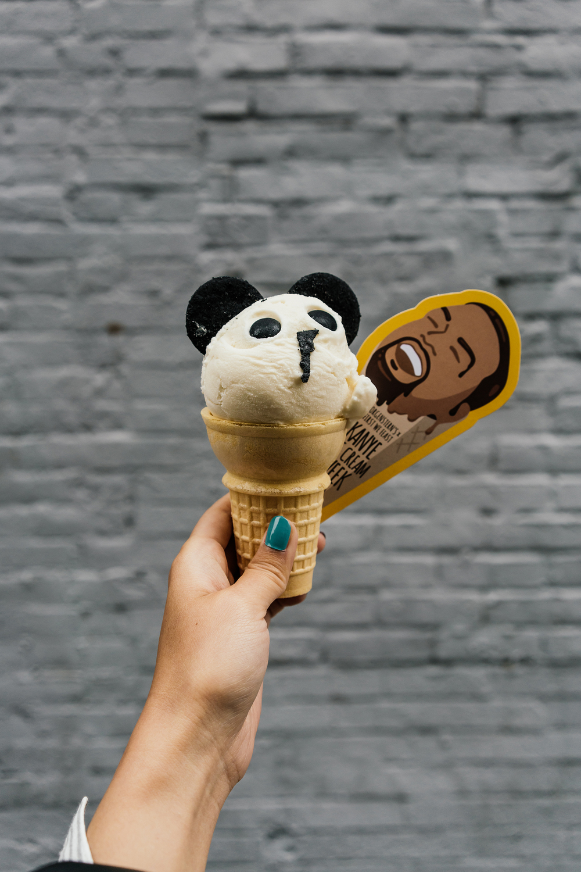 Kanye Panda Cone at  Morgenstern's
