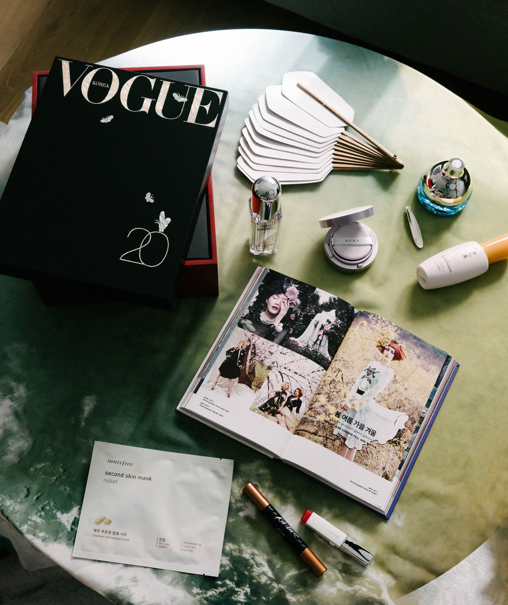 Vogue Korea 20th Anniversary x Glow Recipe