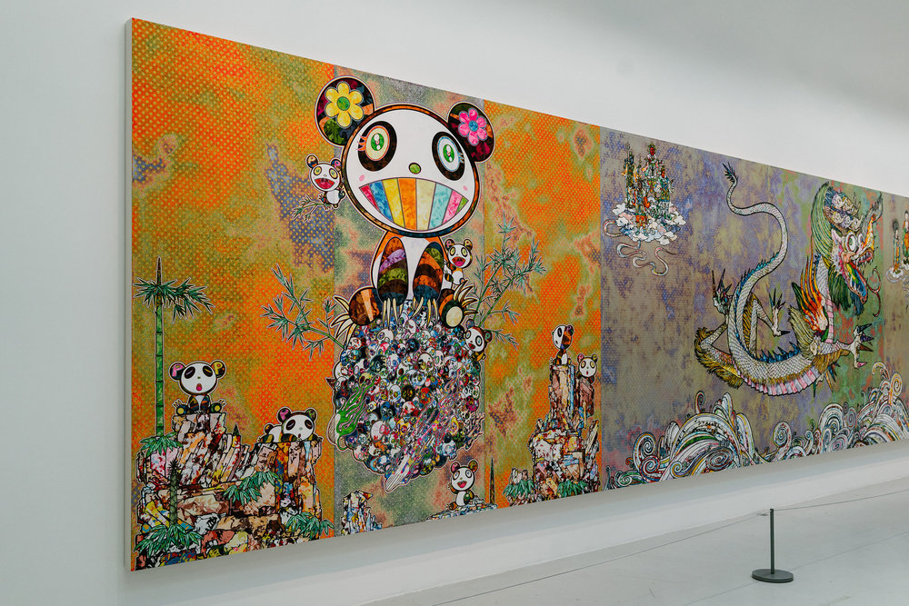 Takashi Murakami, Learning The Magic Of Painting Exhibition at Galerie Perrotin