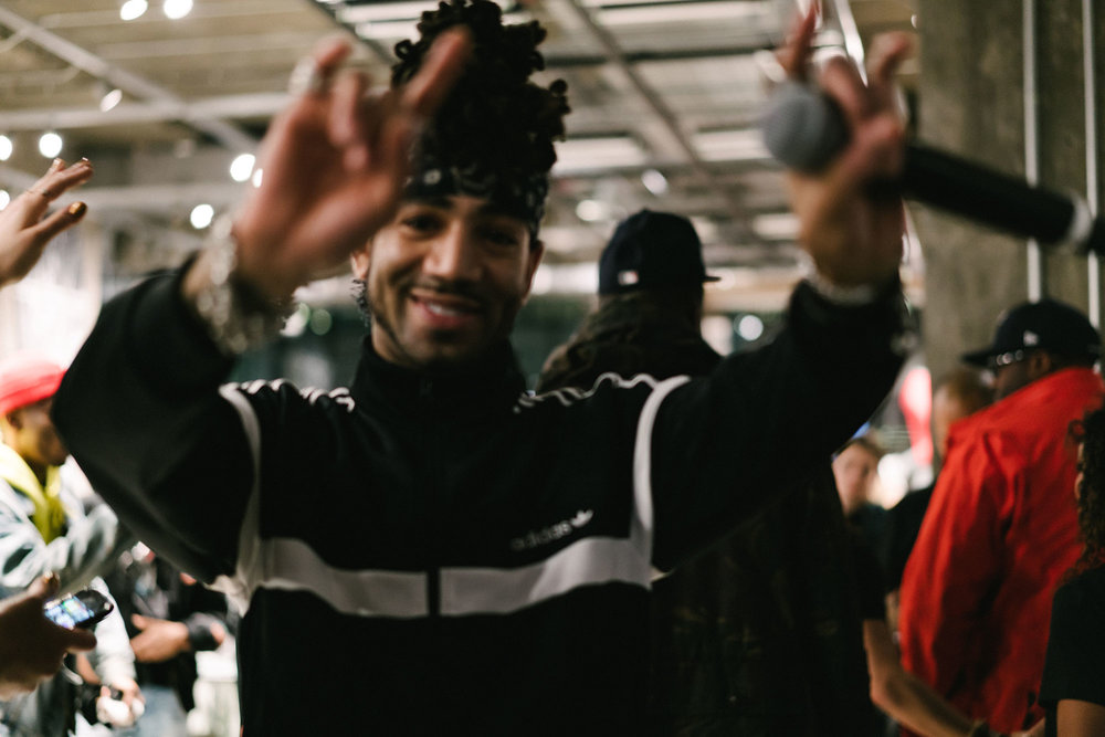 DJ Esco at  adidas  Flagship Stadium Opening