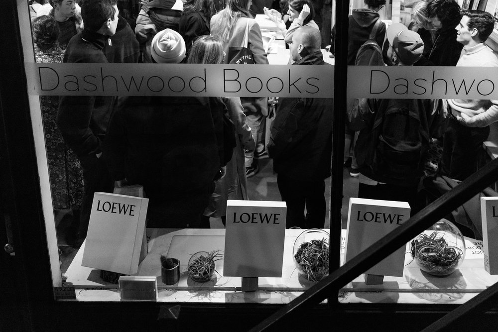 LOEWE  Past, Present, Future Book Signing w/ Jonathan Anderson & Luis Venegas at Dashwood Books