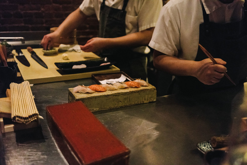 Hubby's birthday omakase birthday dinner at  Shuko