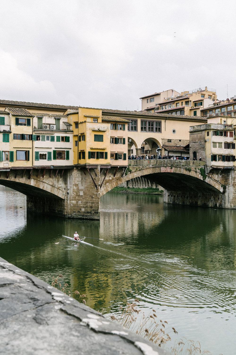 Ponte Vecchio, the oldest bridge in Florence