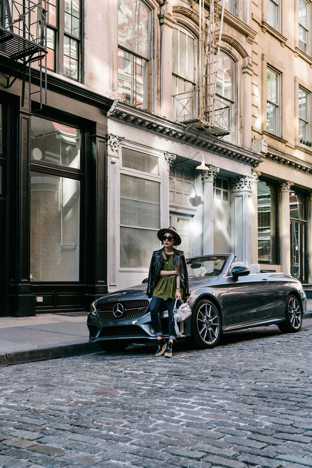 A day with the Mercedes AMG C 43 Cabriolet for  She's Mercedes  Instagram Takeover