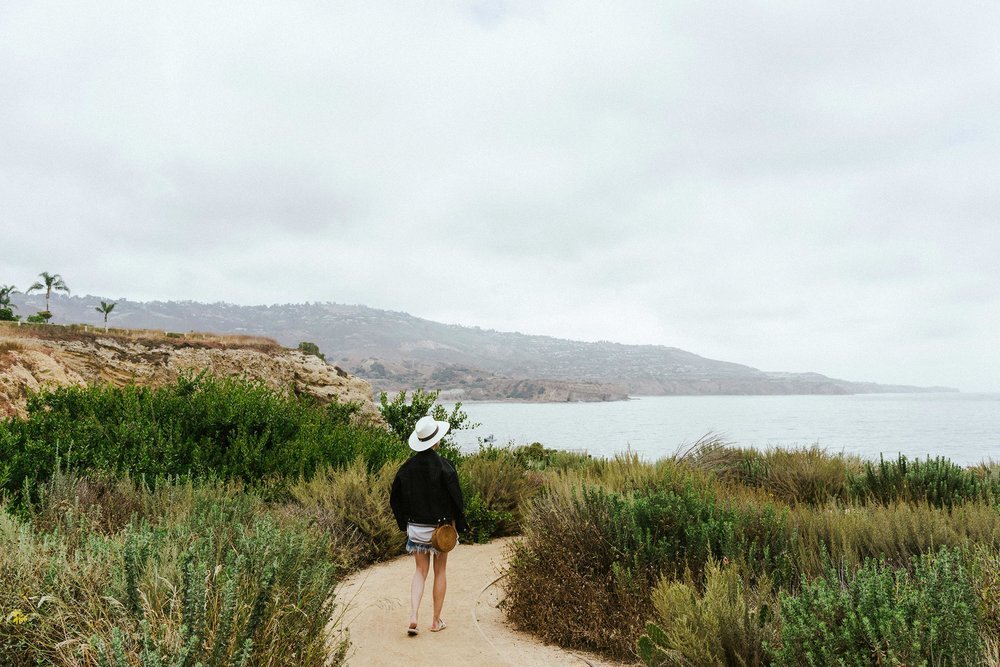Exploring the grounds of  Terranea Resort