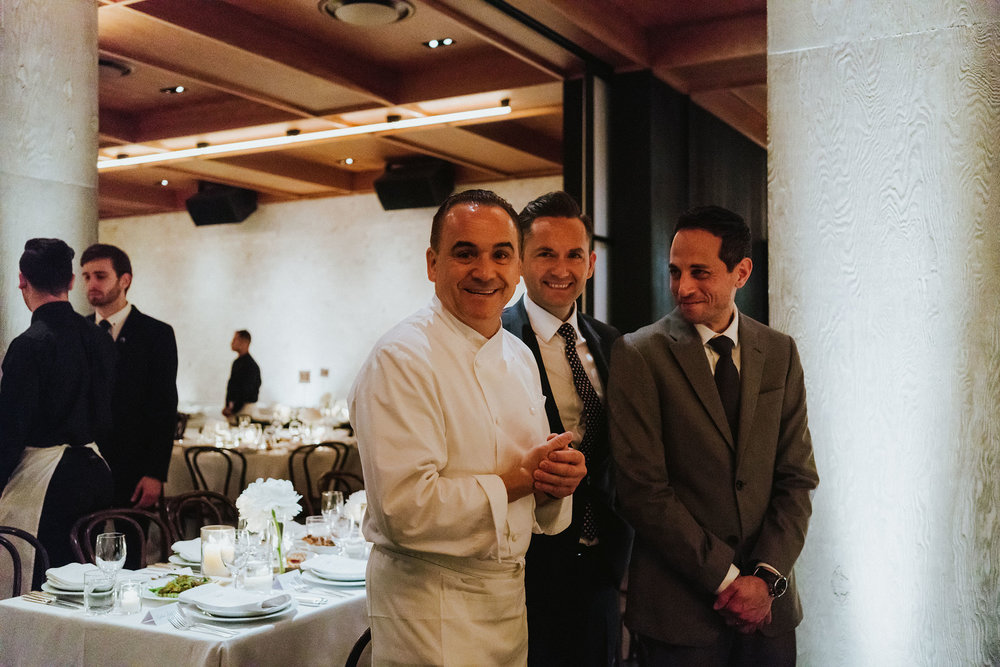 PUBLIC Hotels New York  Opening night dinner w/ Jean Georges