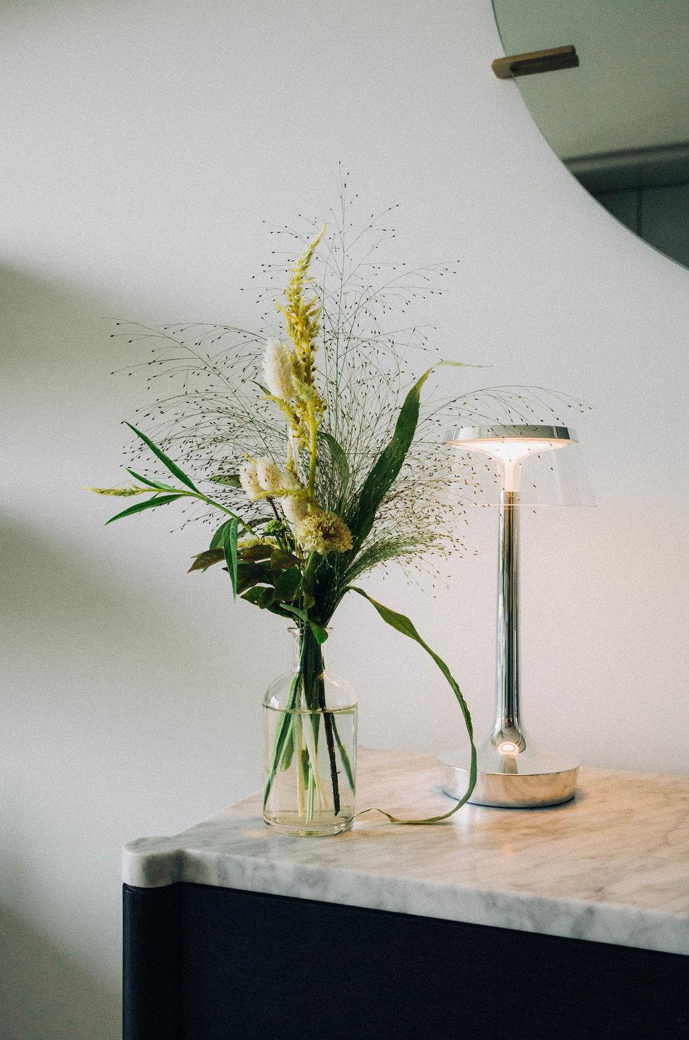 Ikebana Floral Arrangement,  FLOS Lamp
