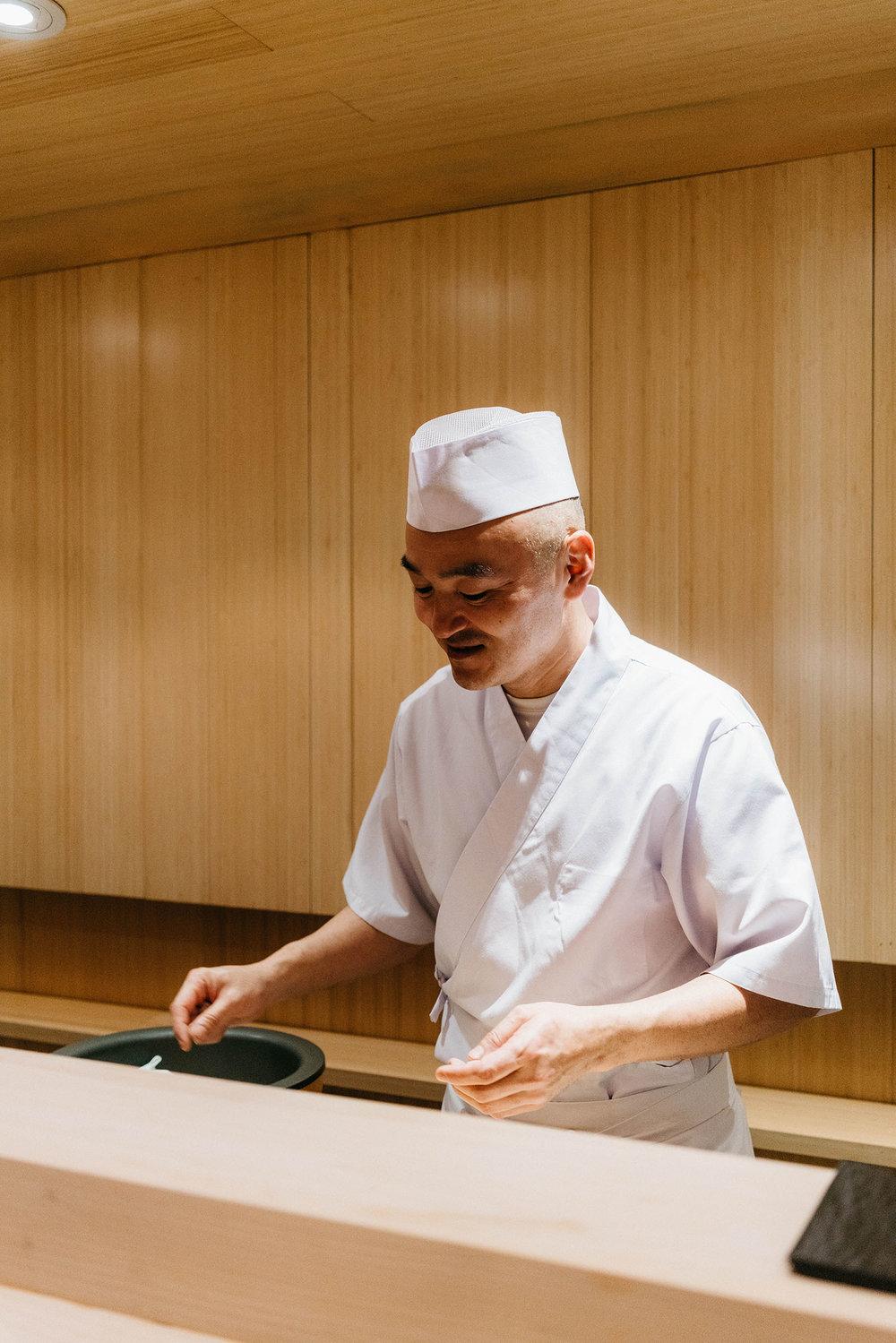 Chef Tatsuya Sekiguchi