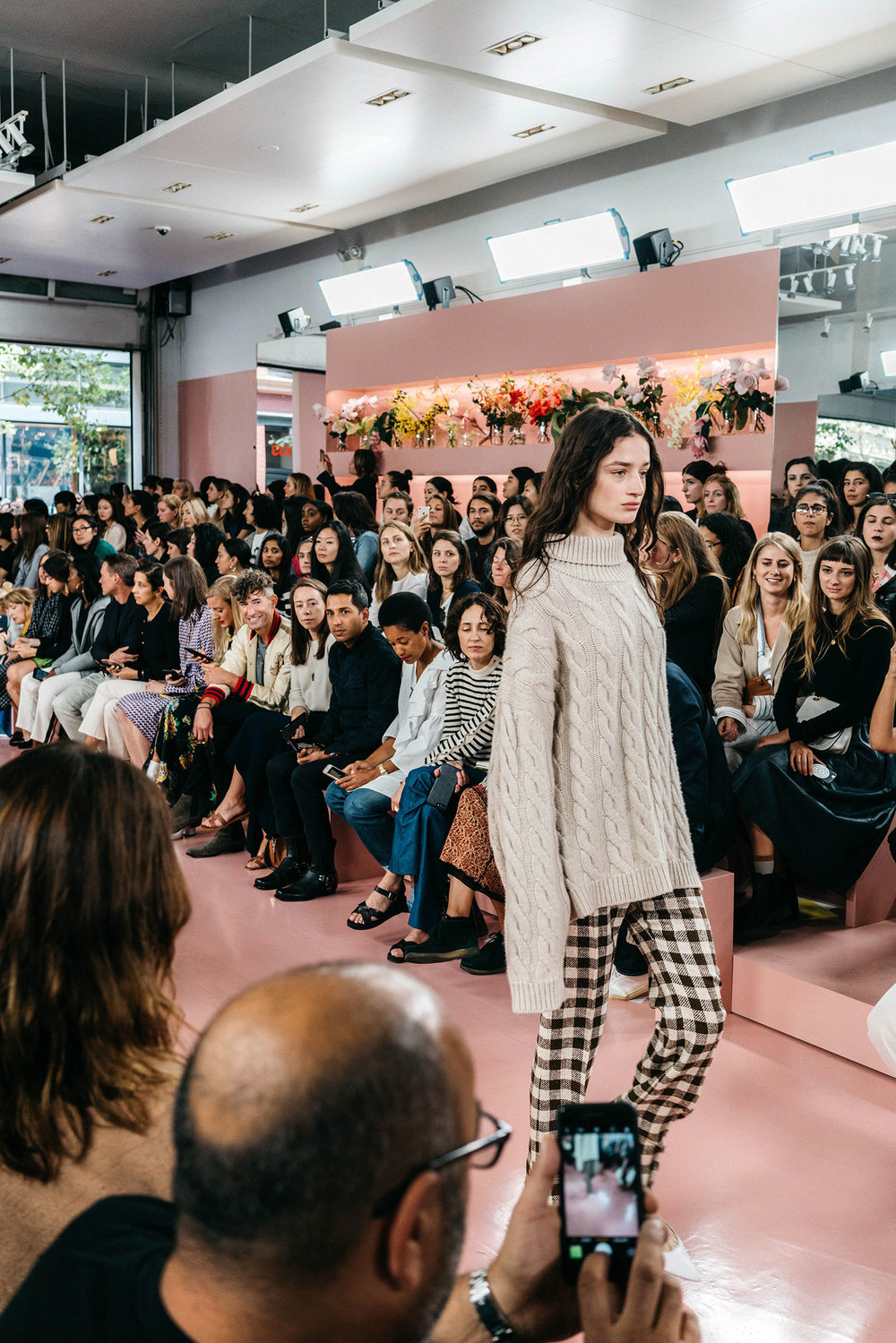 Mansur Gavriel  SS18 Runway Show and debut of the brand's RTW collection