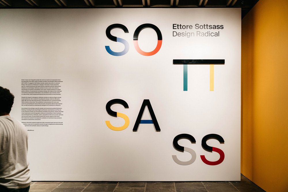 Ettore Sottsass: Design Radical Exhibition at the Met Breuer