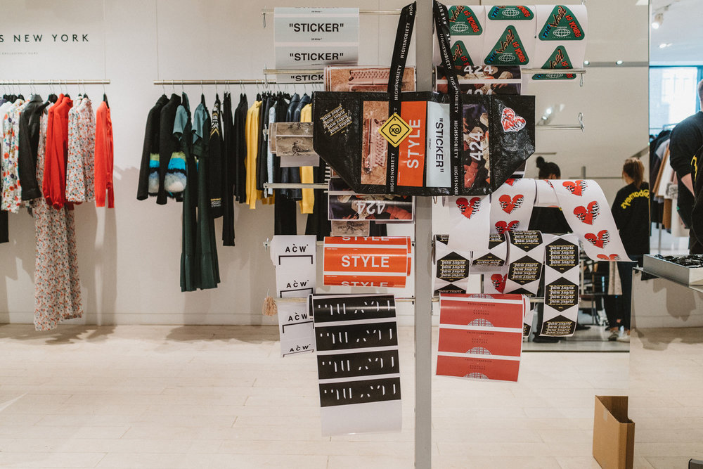 thedrop@barneys x High Snobiety